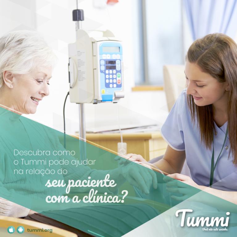 Relação do paciente com a clínica